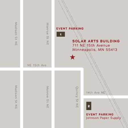 Solar Arts Parking Map Big